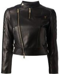 2 quilted lambskin biker jacket medium 101158