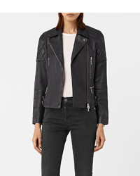 AllSaints Armstead Leather Biker Jacket