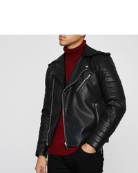 River Island Black Biker Jacket