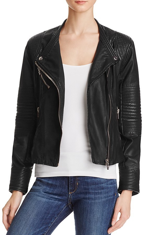 Quilted Faux Leather Moto Jacket Blanknyc Cairoamani Com