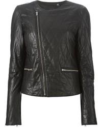 BLK DNM Quilted Biker Jacket