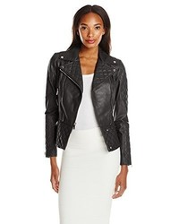 Dl2 Quilted Leather Moto Jacket