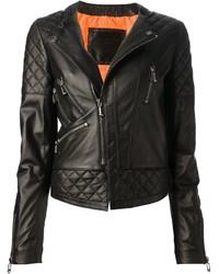 Philipp Plein Quilted Biker Jacket
