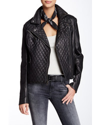 Levi's Quilted Faux Leather Moto Jacket