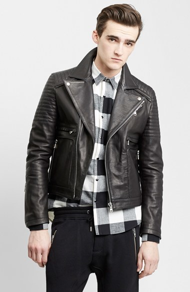 The Kooples Sport Leather Moto Jacket Where To Buy How To Wear