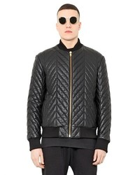 Blood Brother Quilted Leather Bomber Jacket