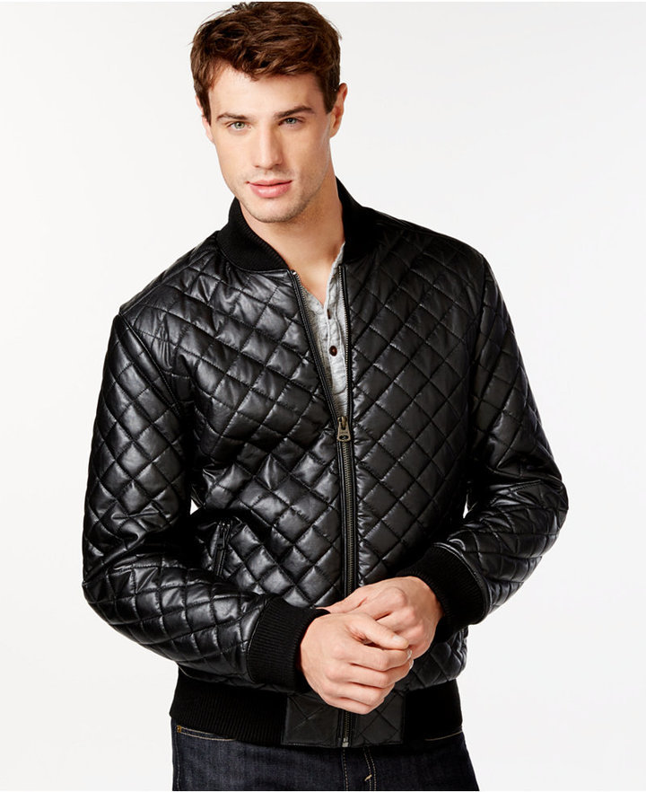 3545b3b5a $199, Levi's Diamond Quilted Bomber Jacket