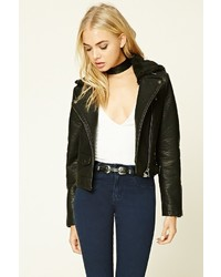 Faux leather bomber jacket medium 874507