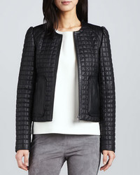 Joie Yetta Quilted Leather Jacket