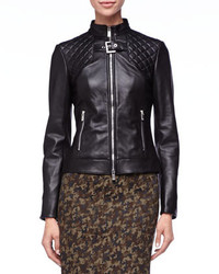 Michael Kors Quilted Leather Jacket Michl Kors