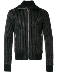 Quilted bomber jacket medium 5400973