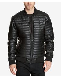 ec5ebb38 Men's Black Bomber Jackets by GUESS | Men's Fashion | Lookastic.com