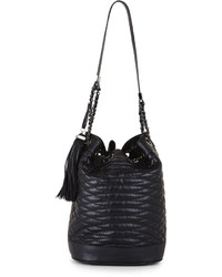 BCBGMAXAZRIA Florance Quilted Leather Bucket Bag