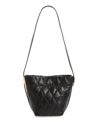 Givenchy Mini Gv Quilted Lambskin Leather Bucket Bag