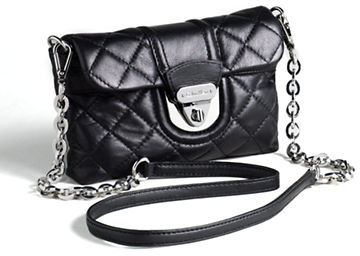 Calvin Klein Quilted Leather Crossbody Bag