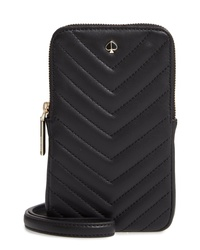 kate spade new york Amelia Quilted Leather Phone Crossbody Bag