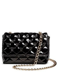 Betseyville by Betsey Johnson Betseyville Betseyville Quilted Crossbody Handbag With Studs And Chain Strap