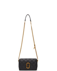 Marc Jacobs Black The Status Flap Crossbody Bag