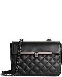 Brooks Brothers Small Quilted Calfskin Crossbody Bag
