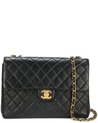 Chanel Vintage Jumbo Quilted Shoulder Bag
