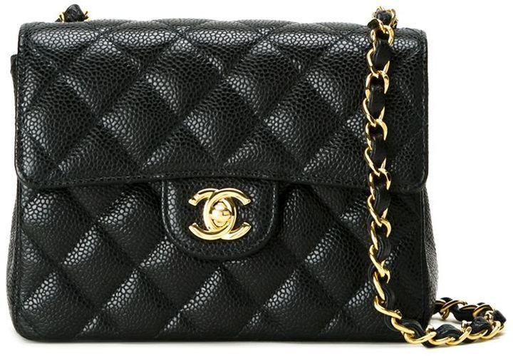 6388426ddb53 Chanel Vintage Small Quilted Crossbody Bag, $7,144 | farfetch.com ...