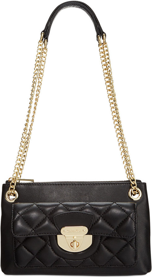 Calvin Klein Chelsea Lamb Crossbody   Where to buy & how to wear : calvin klein quilted leather crossbody bag - Adamdwight.com