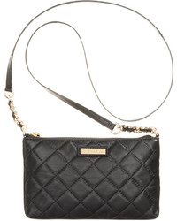 9a44b6439b19 Women's Black Quilted Leather Crossbody Bags by Calvin Klein ...