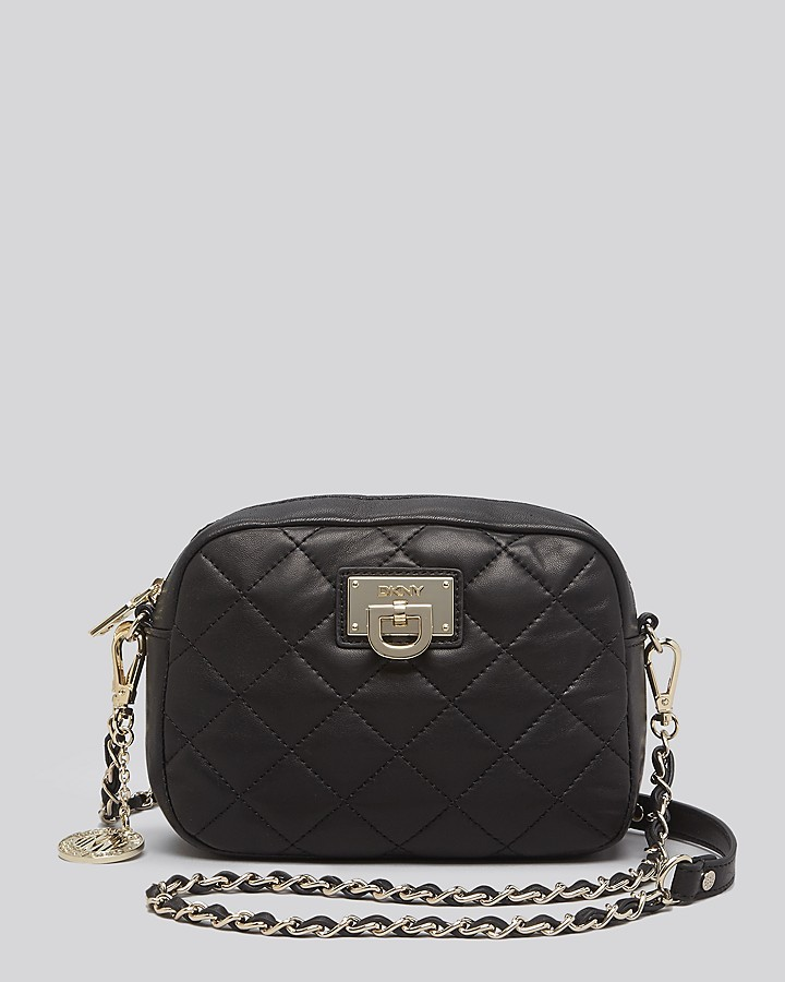DKNY Crossbody Gansevoort Quilted Nappa Camera Bag | Where to buy ... : dkny quilted shoulder bag - Adamdwight.com
