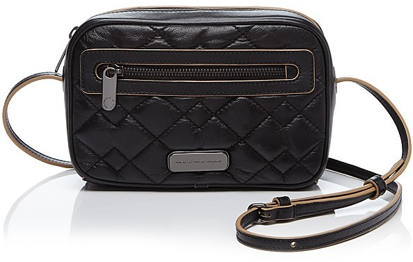Marc by Marc Jacobs Crossbody Sally Moto Quilted | Where to buy ... : marc jacobs black quilted bag - Adamdwight.com