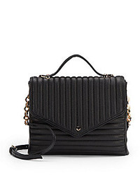 Deux Lux Bea Quilted Faux Leather Crossbody