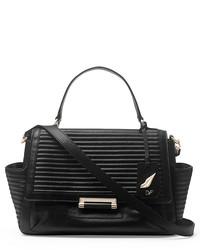 Diane von Furstenberg 440 Courier Rail Quilted Leather Bag