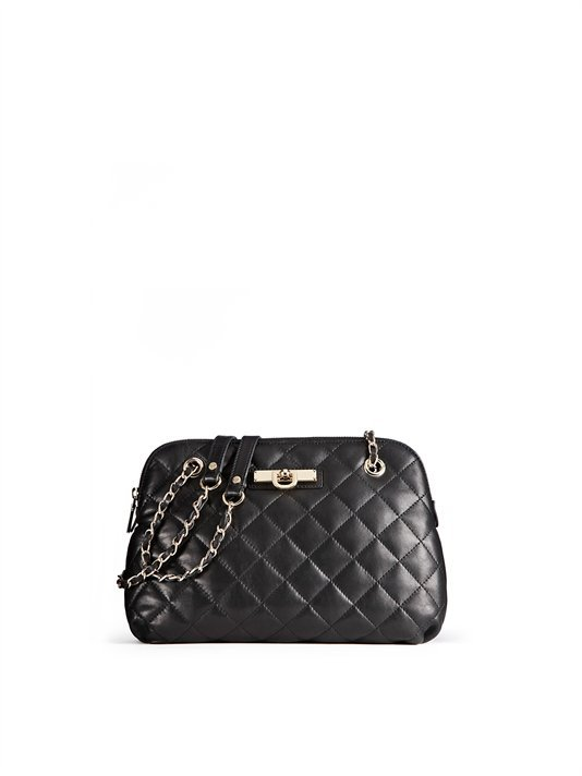 Dkny Gansevoort Quilted Na Leather