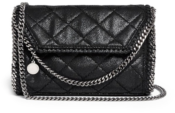 Stella McCartney Falabella Mini Quilted Crossbody Bag | Where to ... : stella mccartney quilted bag - Adamdwight.com
