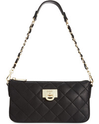 DKNY Gansevoort Quilted Nappa Leather Small Crossbody
