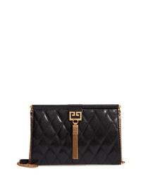 Givenchy Gem Quilted Leather Frame Shoulder Bag