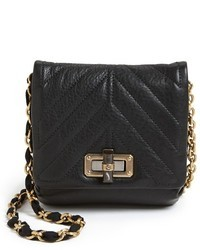 Lanvin Happy Mini Leather Crossbody Bag