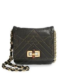 Lanvin Happy Mini Pop Studded Lambskin Leather Crossbody Bag