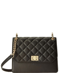 Calvin Klein Lamb Quilted Turnlock Crossbody