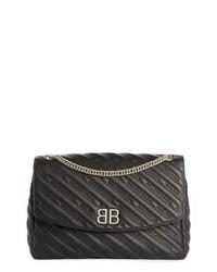 Large bb leather shoulder bag medium 8692016