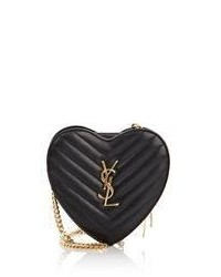 Saint Laurent Love Small Crossbody Black
