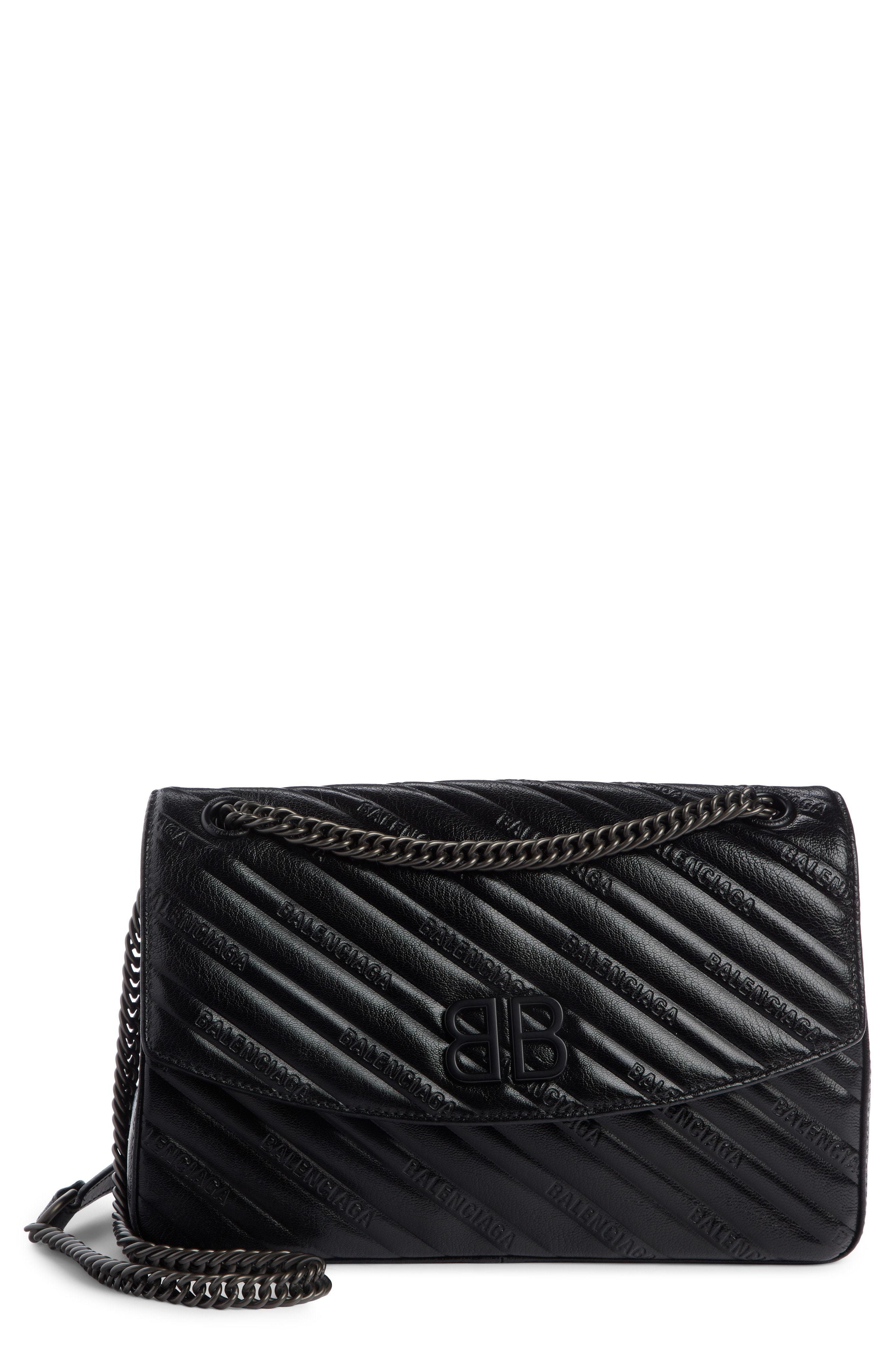 73b2c107f594bc Balenciaga Medium Bb Round Leather Shoulder Bag, $1,950   Nordstrom ...
