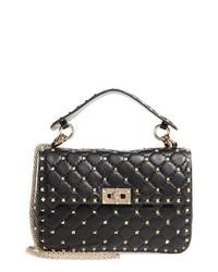 Valentino Garavani Medium Rockstud Matelasse Quilted Leather Shoulder Bag