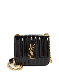Saint Laurent Medium Vicky Patent Leather Crossbody Bag