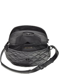 Marc by Marc Jacobs New Q Quilted Mini Natasha Black Leather Crossbody Bag