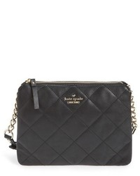 Kate Spade New York Emerson Place Harbor Leather Crossbody Bag Black