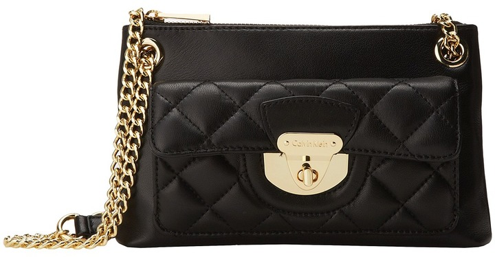 Calvin Klein Quilted Chain Crossbody Where To Buy How To Wear