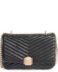 Quilted crossbody bag black medium 951699