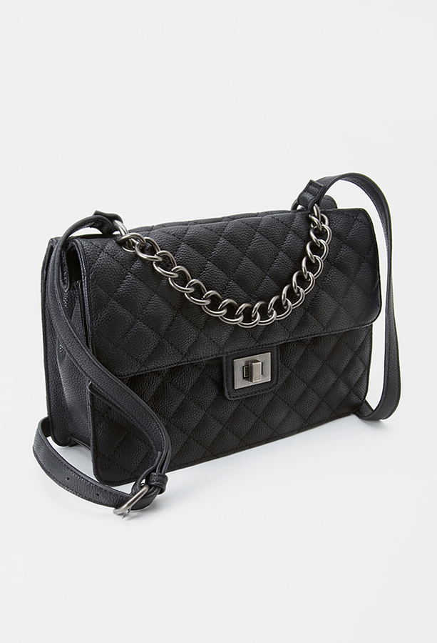 Bags Forever 21 Quilted Faux Leather Crossbody