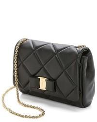 ... Salvatore Ferragamo Quilted Miss Vara Crossbody Bag ... 3cfdd32263663