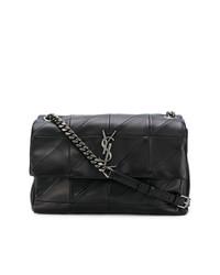 Saint Laurent Quilted Monogram Shoulder Bag